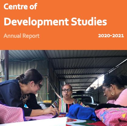 Front cover of Centre's Annual Report
